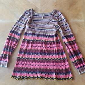 Cutest Ever Free People Knit Dress/Top